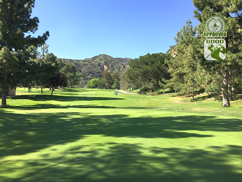 DeBell Golf Club Burbank California GK Review Guru Visit - Hole 17