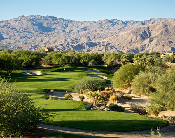 Desert Willow Golf Resort MOUNTAIN VIEW Course Palm Desert California Hole 5
