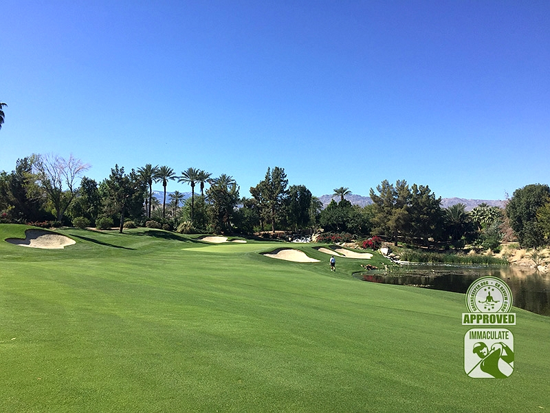 Indian Wells Golf Resort (CELEBRITY) Indian Wells California Hole 17