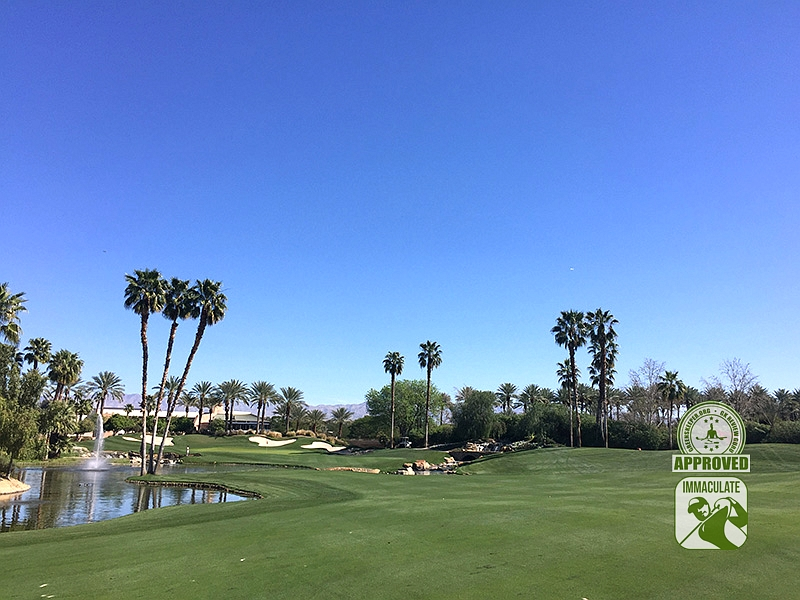 Indian Wells Golf Resort (CELEBRITY) Indian Wells California Hole 18