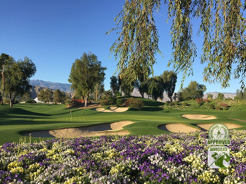 Indian Wells Golf Resort (CELEBRITY) Indian Wells California - Hole 3 Approach