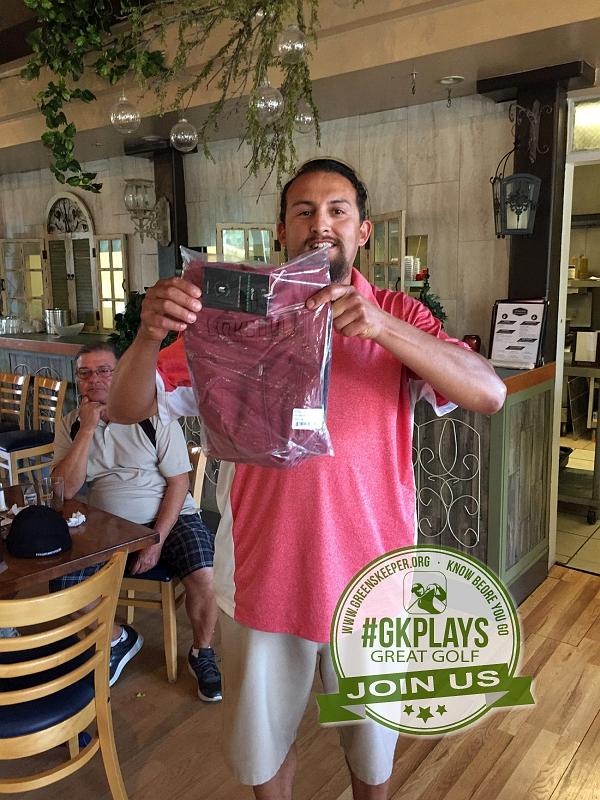 Boulder Oaks Golf Club Escondido California Congrats to Gus wins LINKSOUL gear