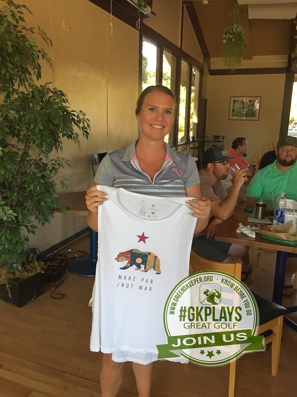 Boulder Oaks Golf Club Escondido California Congrats to newcomer Hilary wins LINKSOUL gear