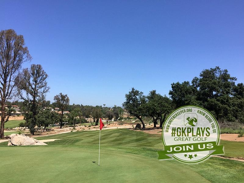 Boulder Oaks Golf Club Escondido California Hole 6 Green-side