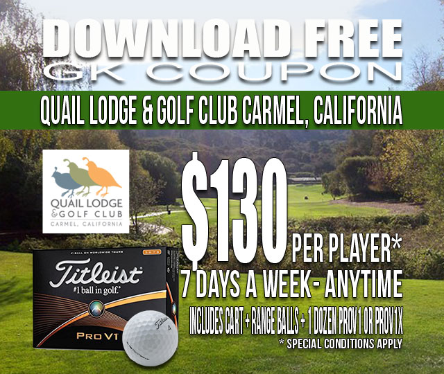 Quail Lodge & Golf Club GK Coupon