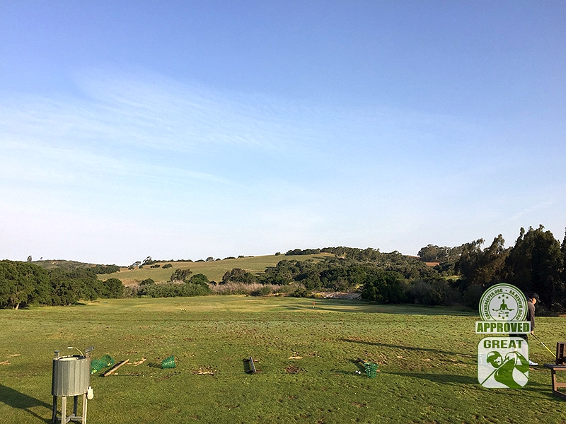 La Purisima Golf Course Lompoc California. Driving Range