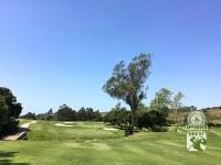 La Purisima Golf Course Lompoc California.  Hole-18 Approach