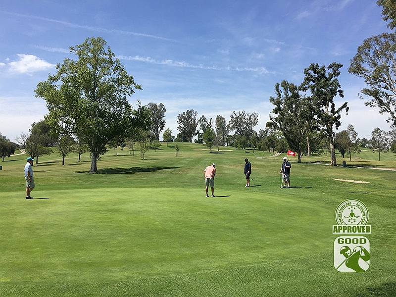 Los Serranos Country Club Chino Hills California Hole 2