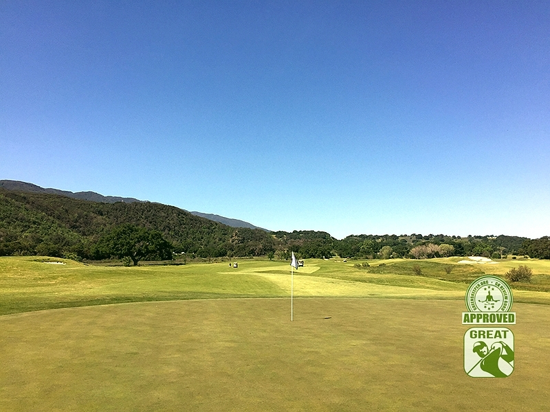 Rancho San Marcos Golf Course Santa Barbara California - Hole 1