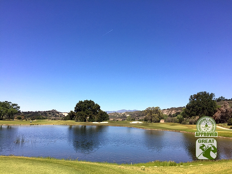 Rancho San Marcos Golf Course Santa Barbara California - Hole 5