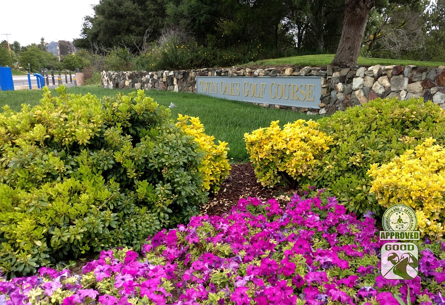 Twin Oaks Golf Course San Marcos California Entry