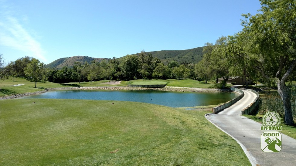 Twin Oaks Golf Course San Marcos California Hole 7 Tee Box