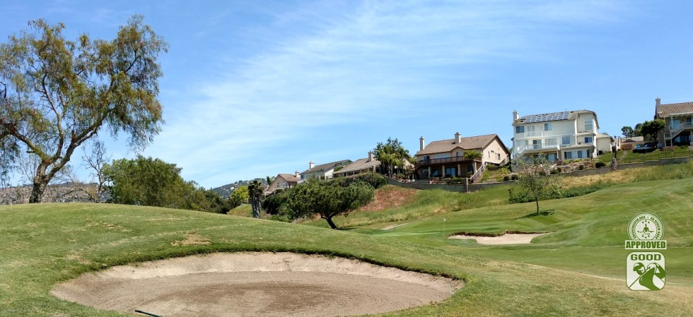 Twin Oaks Golf Course San Marcos California Hole 8 Approach