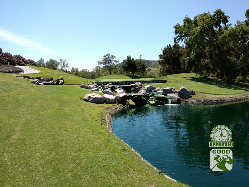 Twin Oaks Golf Course San Marcos California Hole 9