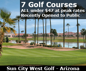 Play Sun City West Golf Arizona