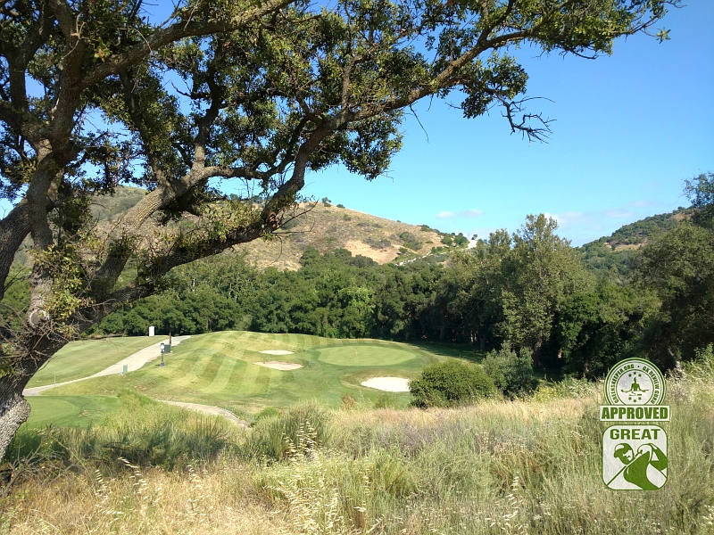 CrossCreek Golf Club Temecula California GK Review Guru Visit - Hole 18
