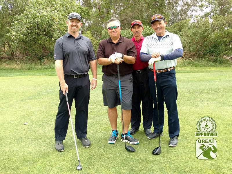 Goose Creek Golf Club Mira Loma California GK Review Guru Visit - Group Photo