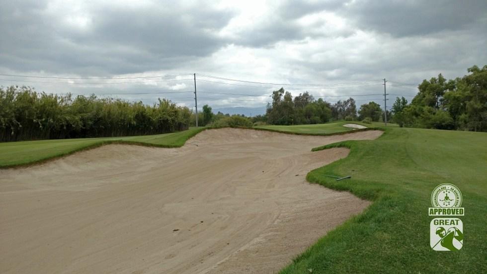 Goose Creek Golf Club Mira Loma California GK Review Guru Visit - Hole 3 Approach