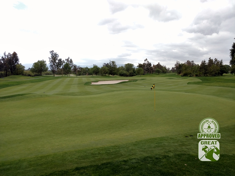 Goose Creek Golf Club Mira Loma California GK Review Guru Visit - Looking back on Hole 10