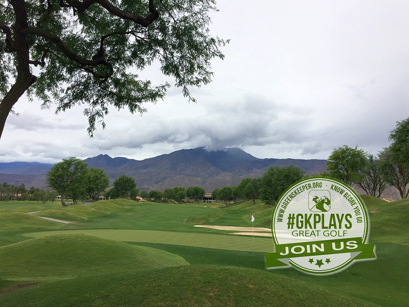 PGA WEST Nicklaus Tournament La Quinta California Hole 1 Green-side