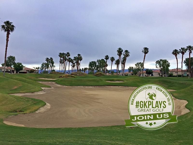 PGA WEST Nicklaus Tournament La Quinta California Hole 5 Approach
