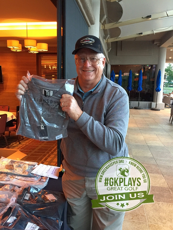 PGA West Nicklaus Tournament La Quinta California dconnally shows off his LINKSOUL swag