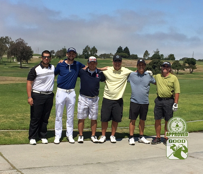 River Ridge Golf Course VINEYARD Oxnard California, GK Review Guru - Group Photo - Our wayward GK Review Gurus find themselves in Oxnard