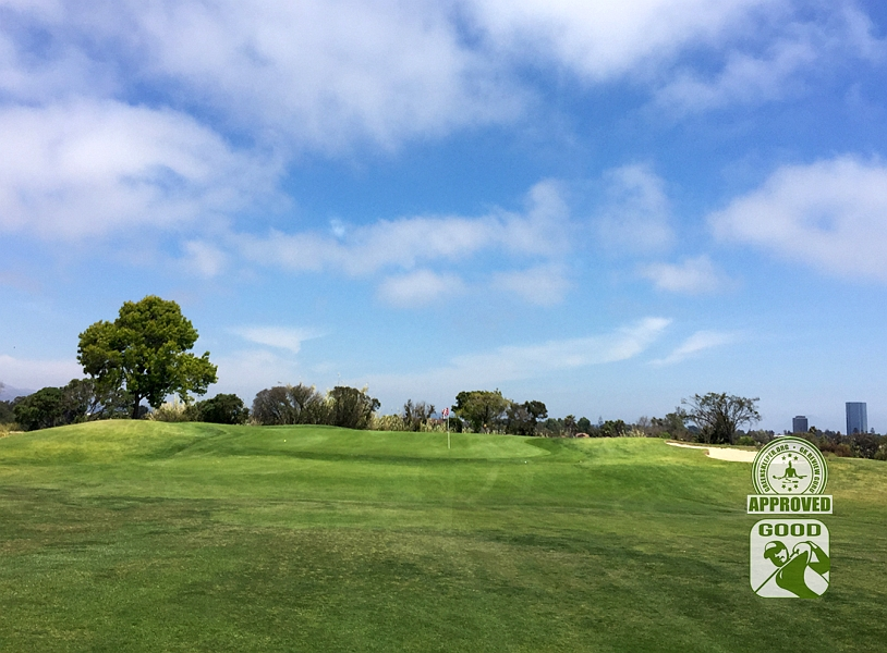River Ridge Golf Course VINEYARD Oxnard California, GK Review Guru - Hole 10