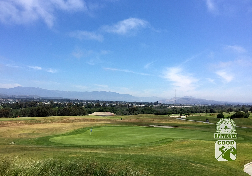 River Ridge Golf Course VINEYARD Oxnard California, GK Review Guru - Hole 3
