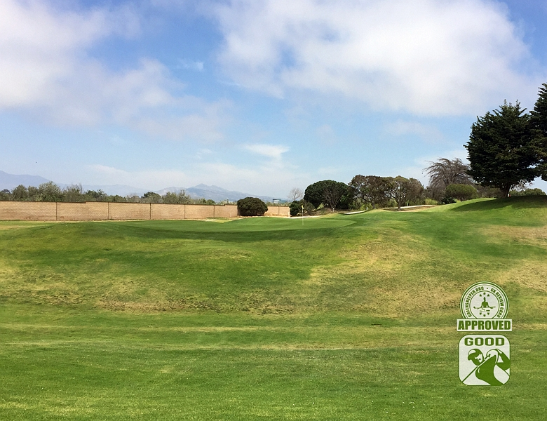 River Ridge Golf Course VINEYARD Oxnard California, GK Review Guru - Hole 8