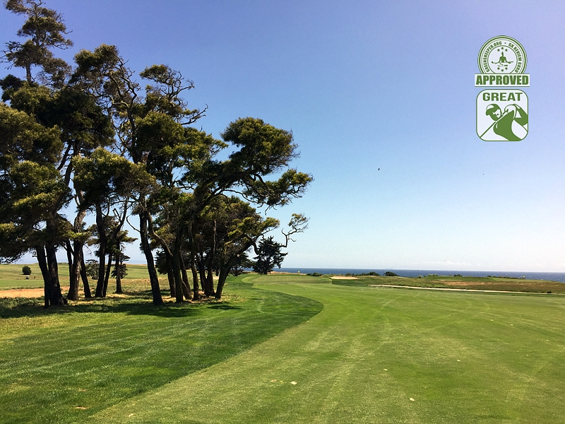 Sandpiper Golf Course Goleta California GK Review Guru Visit - Hole 16
