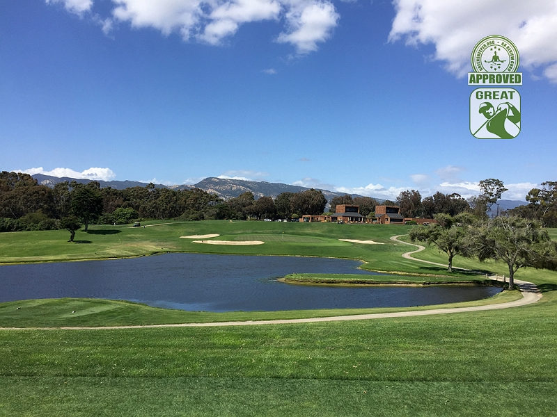 Sandpiper Golf Course Goleta California GK Review Guru Visit - Hole 18