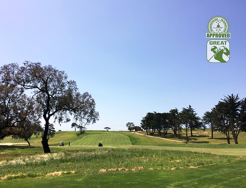 Sandpiper Golf Course Goleta California GK Review Guru Visit - Hole 7
