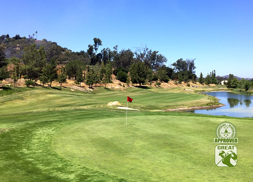 Woods Valley Golf Club Valley Center California. GK Review Guru Visit - Hole 10