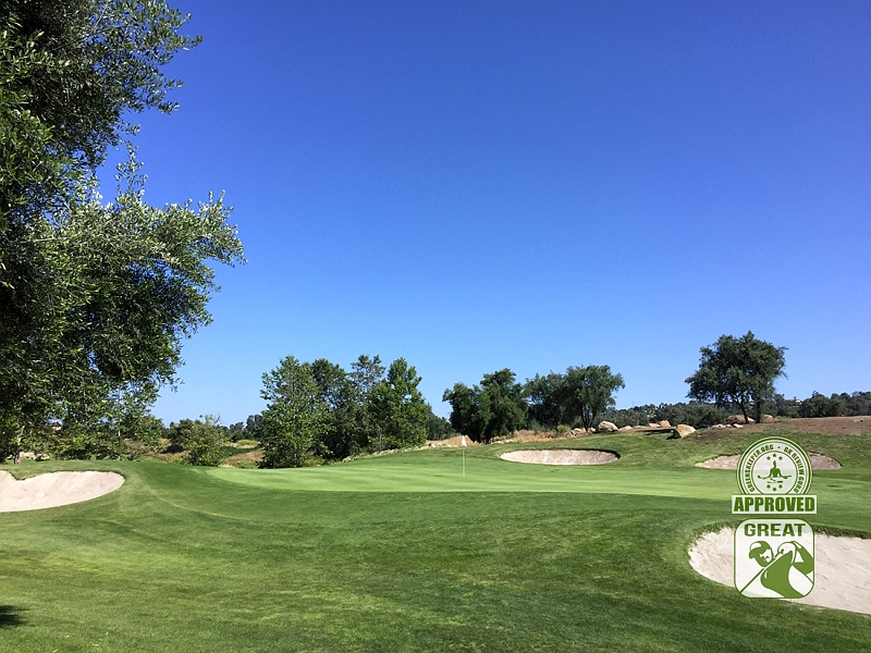 Woods Valley Golf Club Valley Center California. GK Review Guru Visit - Hole 2 Approach
