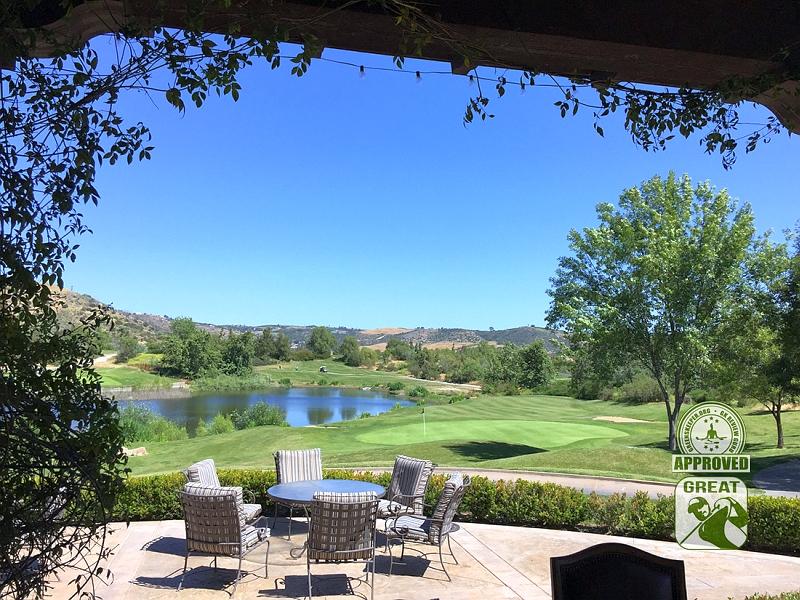 Golf Club of California Fallbrook California Hole 18 Green-side