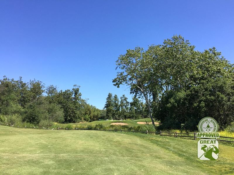 Golf Club of California Fallbrook California Hole 2 Approach