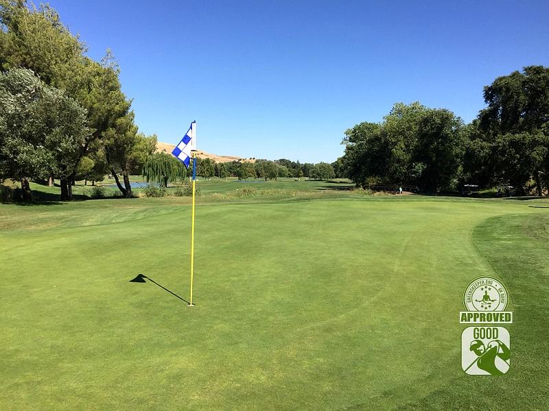 Paradise Valley Golf Course Fairfield California Hole 10