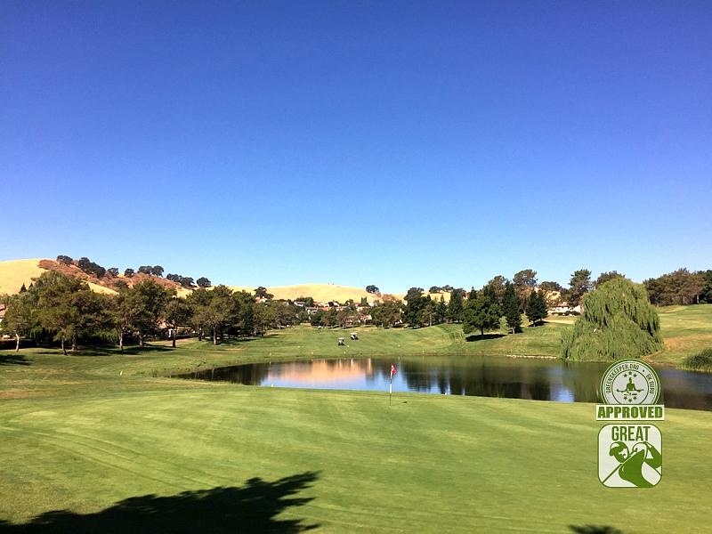 Rancho Solano Golf Course Fairfield California Hole 11