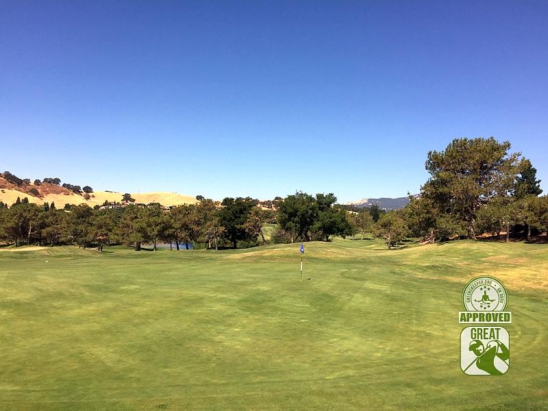 Rancho Solano Golf Course Fairfield California Hole 13