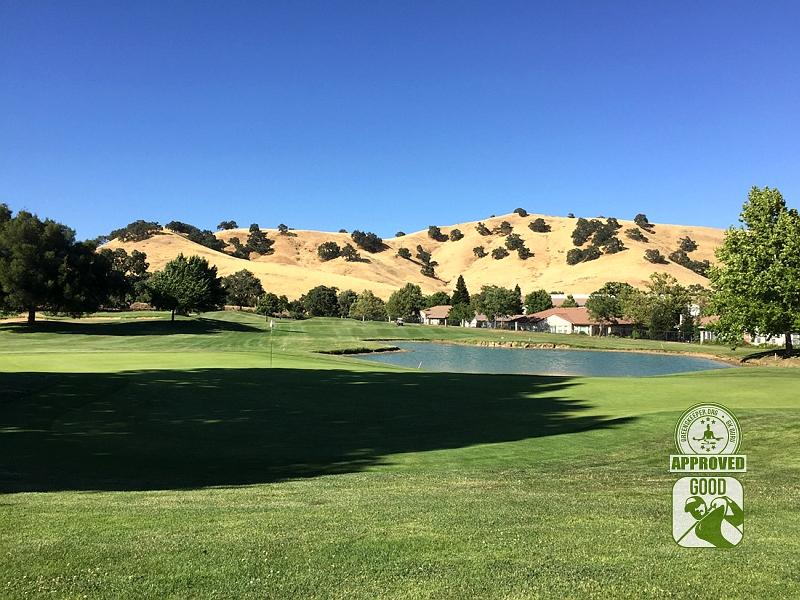 Paradise Valley Golf Course Fairfield California Hole 15