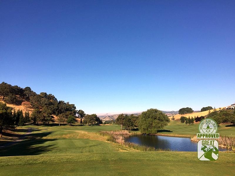 Rancho Solano Golf Course Fairfield California Hole 2