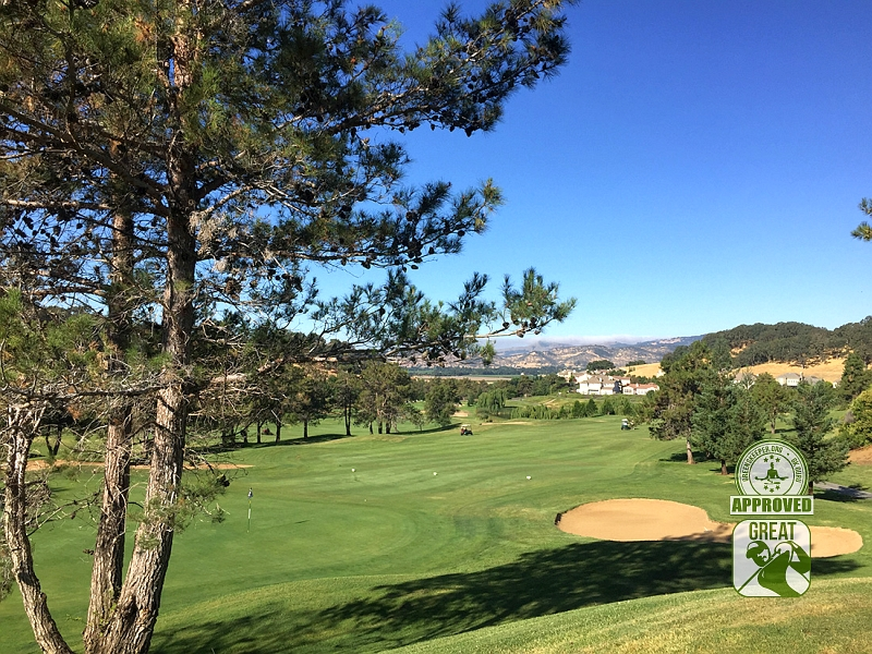 Rancho Solano Golf Course Fairfield California Hole 6