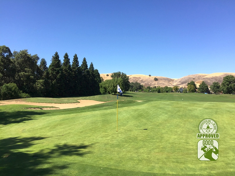 Paradise Valley Golf Course Fairfield California Hole 7