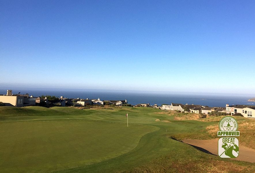 The Links at Bodega Harbour Bodega Bay, CA Hole 3