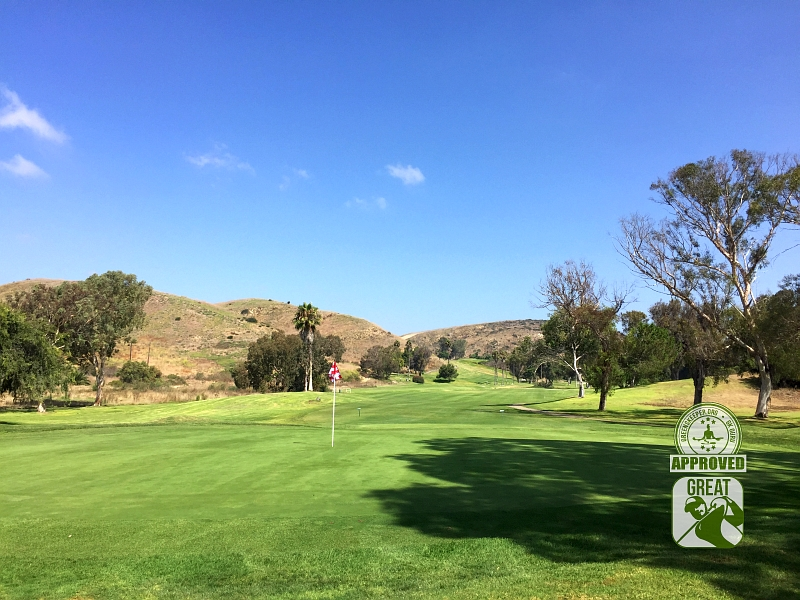 Marine Memorial Golf Course Camp Pendleton California. Hole 11