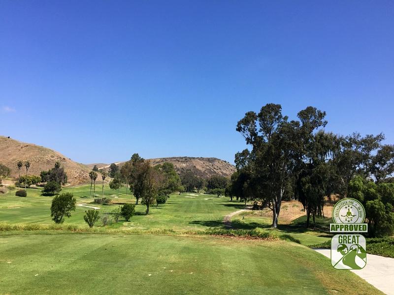 Marine Memorial Golf Course Camp Pendleton California. Hole 15