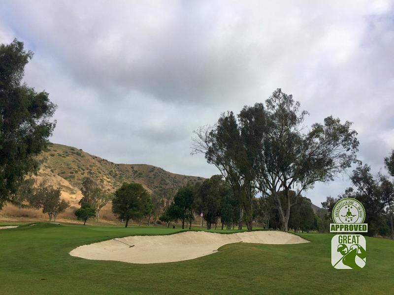 Marine Memorial Golf Course Camp Pendleton California. Hole 2
