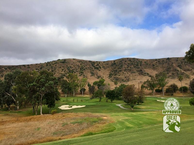 Marine Memorial Golf Course Camp Pendleton California. Hole 4