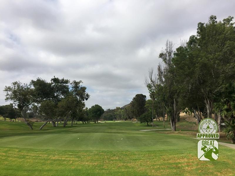 Marine Memorial Golf Course Camp Pendleton California. Hole 6